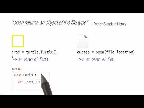 Connecting Turtle and Open - Programming Foundations with Python thumbnail