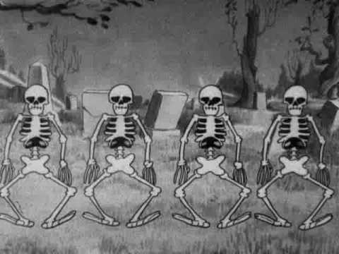 silly symphony - the skeleton dance 1929 disney short thumbnail