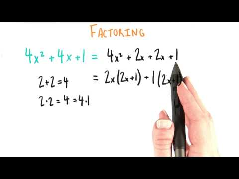 Full on Factoring - College Algebra thumbnail