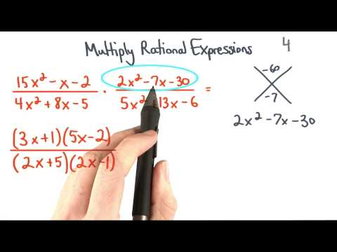 Multiply Rational Expressions 4 Factor thumbnail