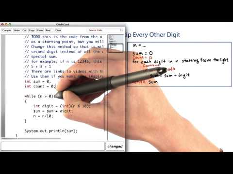 Sum Every Other Digit - Intro to Java Programming thumbnail