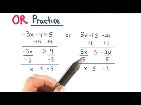 Practice with Or - Visualizing Algebra thumbnail