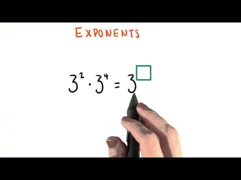 Find the Exponent - College Algebra thumbnail