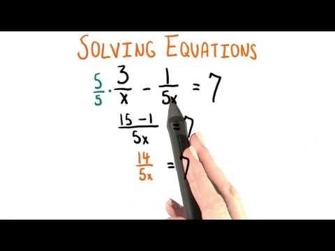 Single Fraction - College Algebra thumbnail
