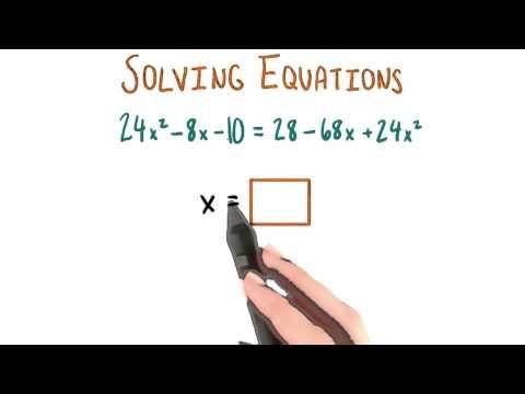 Solving for x - College Algebra thumbnail