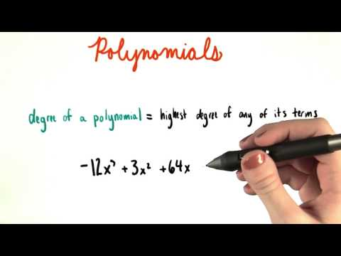 Polynomial Degree - College Algebra thumbnail