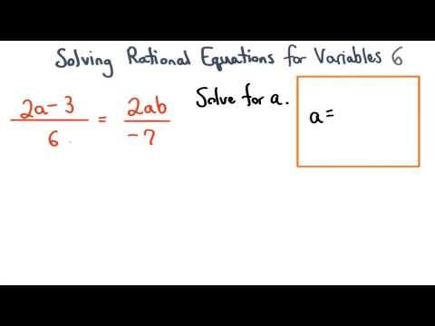 Solving Formulas Practice 6 - Visualizing Algebra thumbnail
