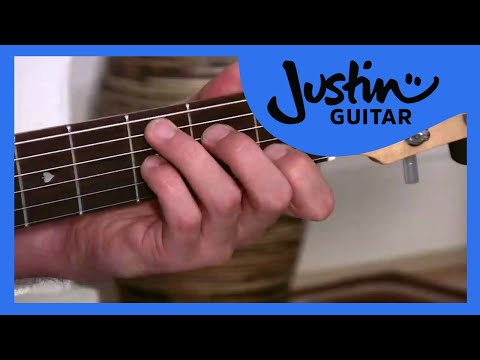 One minute Changes(Guitar Lesson BC-144) Guitar for beginners Stage 4 thumbnail