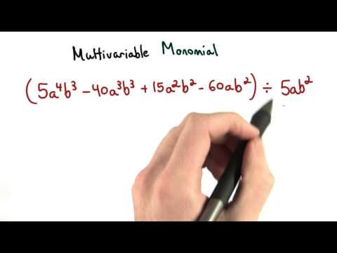 Multivariable Monomials - Visualizing Algebra thumbnail