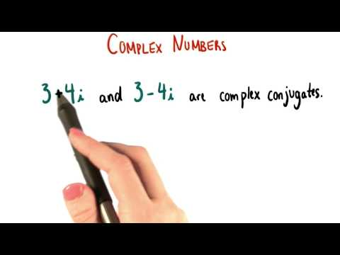 Complex Conjugates - College Algebra thumbnail