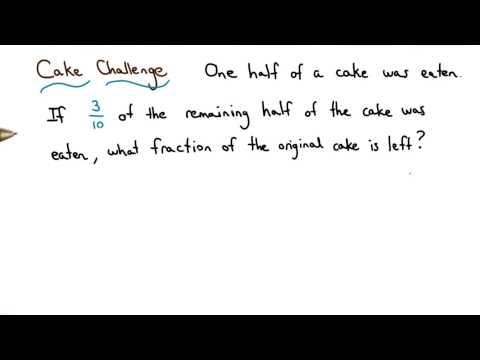 Cake Challenge - Visualizing Algebra thumbnail