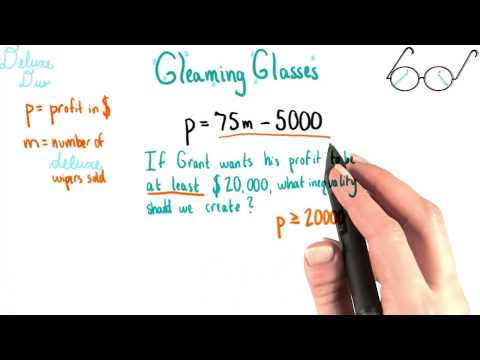 Deluxe Duo Profit - College Algebra thumbnail