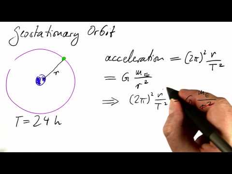 Geostationary Orbit - Differential Equations in Action thumbnail