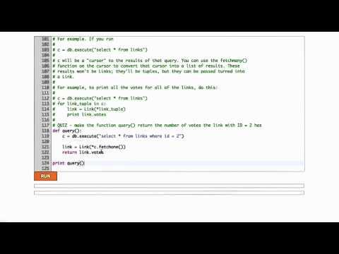 Databases in Python Solution - Web Development thumbnail