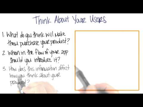 How to Think About Users  App Monetization  Udacity thumbnail