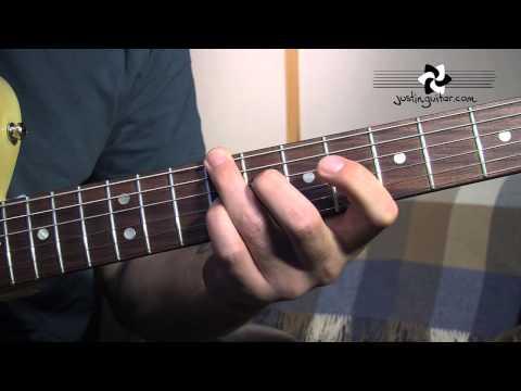 Mini Blues Chord Grips (Blues Rhythm Guitar - Guitar Lesson BL-208) How to play thumbnail