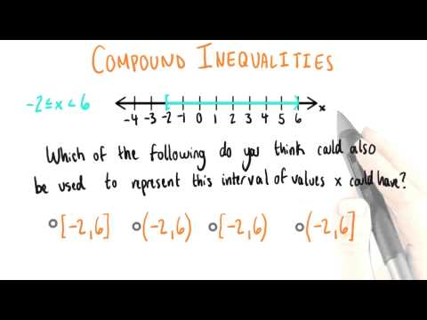 Interval of Values - College Algebra thumbnail
