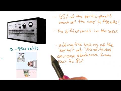 Milgram study results - Intro to Psychology thumbnail
