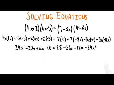 Simplify Each Side - College Algebra thumbnail