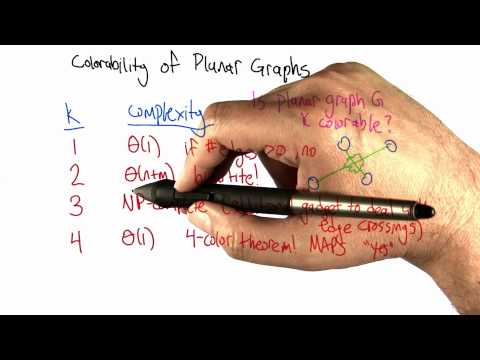 Coloring Planar Graphs - Intro to Algorithms thumbnail