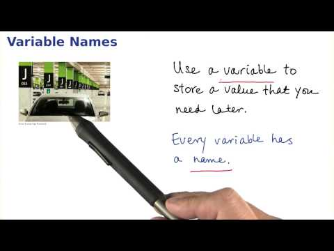 Variable Names - Intro to Java Programming thumbnail