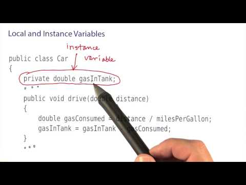 Local and Instance Variables Part 1 - Intro to Java Programming thumbnail