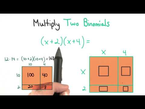 Multiply Two Binomials - Visualizing Algebra thumbnail