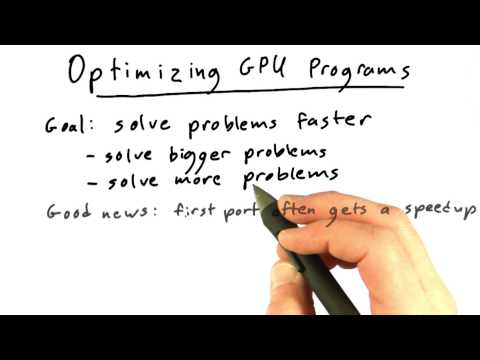 Optimizing GPU Programs - Intro to Parallel Programming thumbnail
