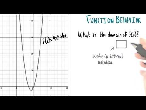 Domain of f of x - College Algebra thumbnail