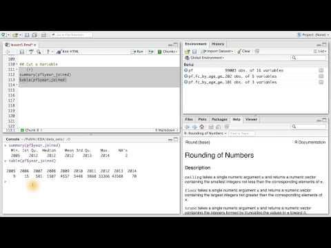 Cut a Variable - Data Analysis with R thumbnail
