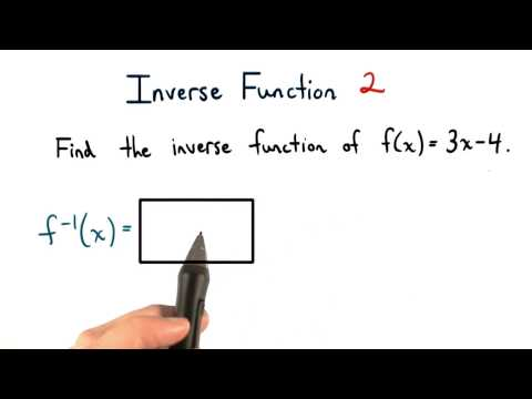 Inverse Functions Practice 2 thumbnail