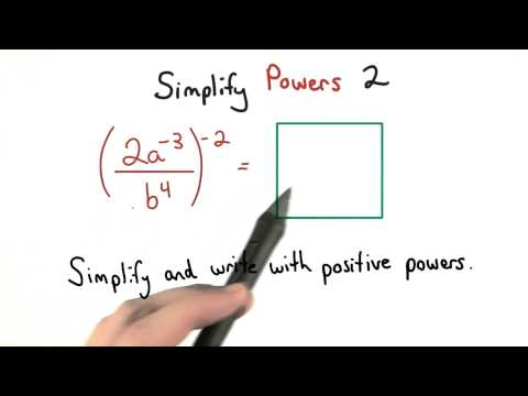 Simplify Exponents 2 - Visualizing Algebra thumbnail