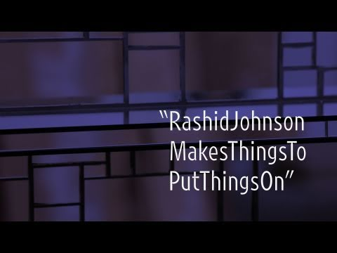 "Rashid Johnson Makes Things to Put Things On | ""New York Close Up"" 