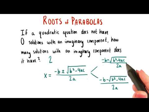 Solutions with Imaginary Components - College Algebra thumbnail