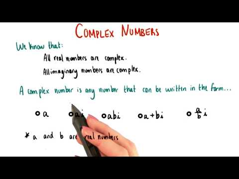 What is a complex number - College Algebra thumbnail