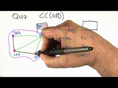 Clustering Coefficient Quiz - Intro to Algorithms thumbnail