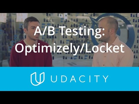 AB Testing - OptimizelyLocket  Key Business Metrics  Product Design  Udacity thumbnail