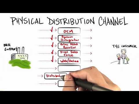 Physical Distribution - How to Build a Startup thumbnail