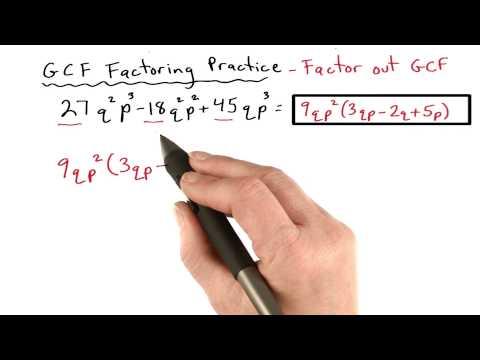 GCF Practice 4 - Visualizing Algebra thumbnail