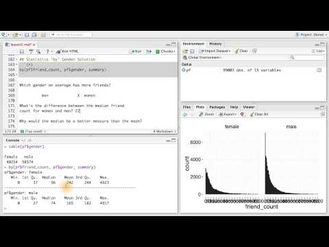 Statistics by Gender - Data Analysis with R thumbnail
