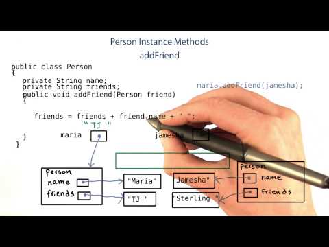 addFriend Method - Intro to Java Programming thumbnail