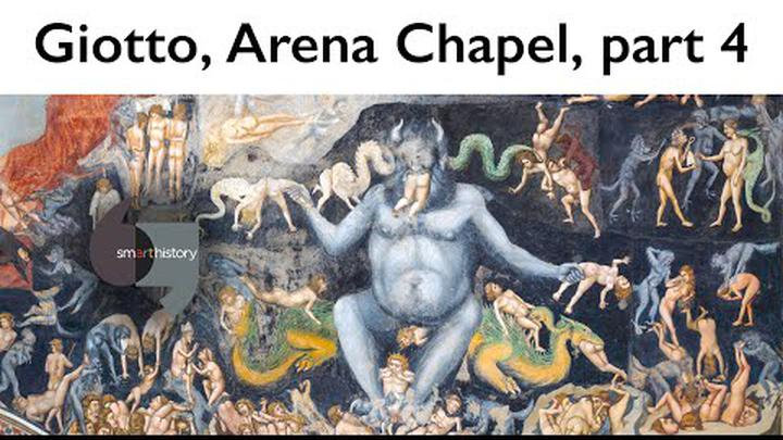 Giotto, The Last Judgment, Arena Chapel, part 4 (of 4)
