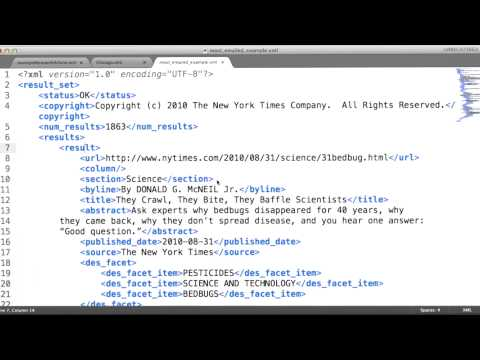 Fundamentals of XML - Data Wranging with MongoDB thumbnail