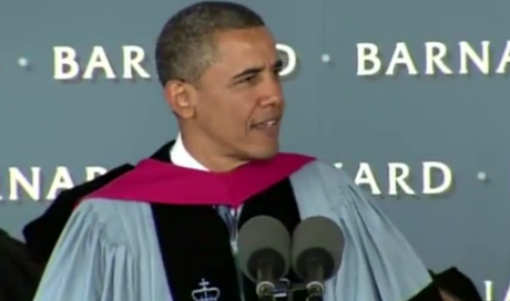 Watch President Obama's Commencement Speech at Barnard College thumbnail