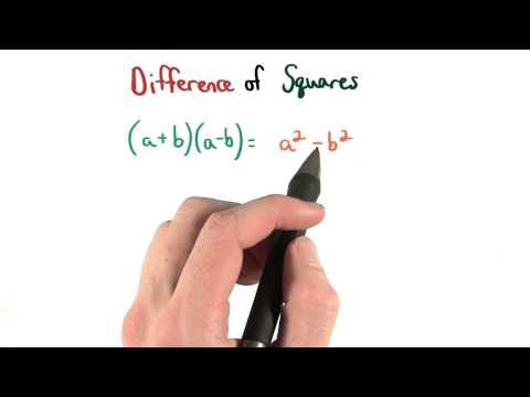 Difference of Squares - Visualizing Algebra thumbnail