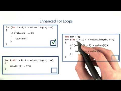 Enhanced For Loop - Intro to Java Programming thumbnail