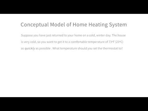 Conceptual Model of a Home Heating System - Intro to the Design of Everyday Things thumbnail