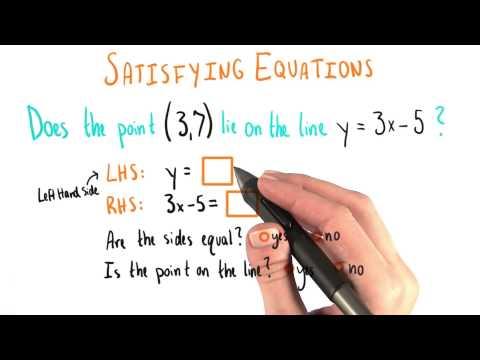 Satisfying Equations 2 - College Algebra thumbnail