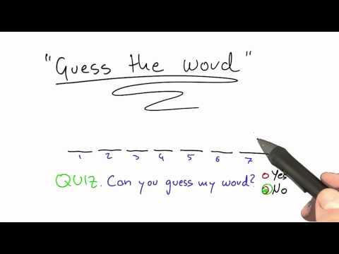 16-09 Guess A Word Solution thumbnail