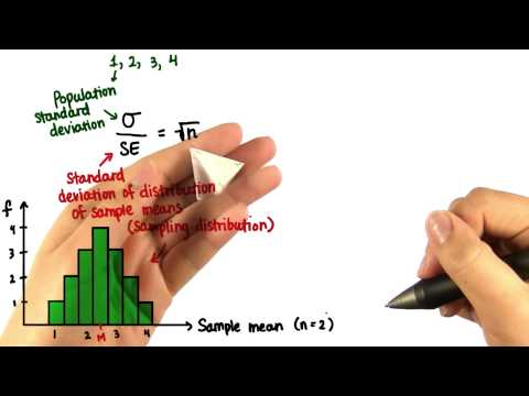 SD of Sampling Distribution - Intro to Descriptive Statistics thumbnail